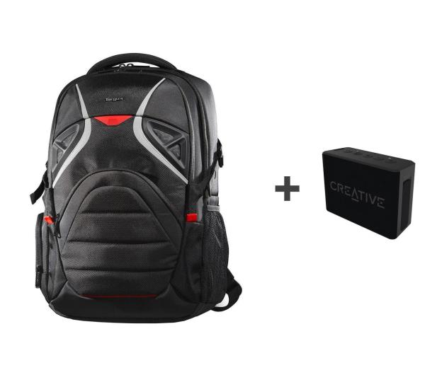 Targus Strike Gaming backpack + Muvo 1c czarny - 497693 - zdjęcie