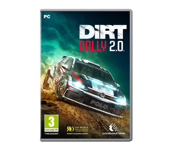 Codemasters Software DiRT Rally 2.0 ESD Steam - 498163 - zdjęcie