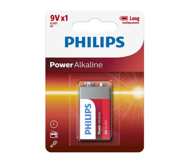 Philips Power Alkaline 9V LR61 (1szt) - 489647 - zdjęcie