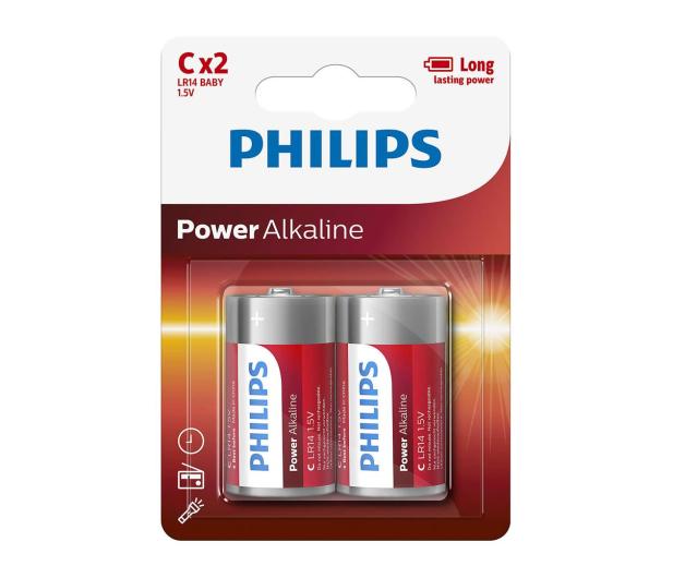 Philips Power Alkaline C LR14 (2szt) - 489645 - zdjęcie