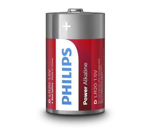 Philips Power Alkaline D LR20 (2szt) - 489641 - zdjęcie 2