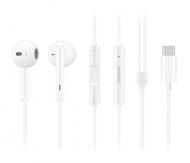 Huawei Słuchawki douszne CM33 USB-C biały - 498509 - zdjęcie 3