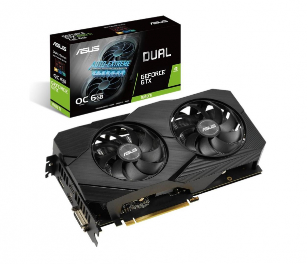 ASUS GeForce GTX 1660 Ti DUAL OC EVO 6GB GDDR6 - 494870 - zdjęcie