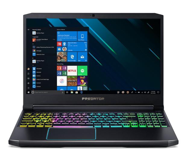 Acer Helios 300 i7-9750H/8GB/512/Win10 RTX2060 144Hz - 498078 - zdjęcie 2