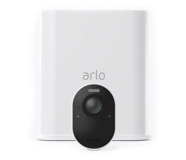 Netgear Arlo Ultra WiFi 4K UHD IR (1szt. + stacja alarm.)  - 493928 - zdjęcie