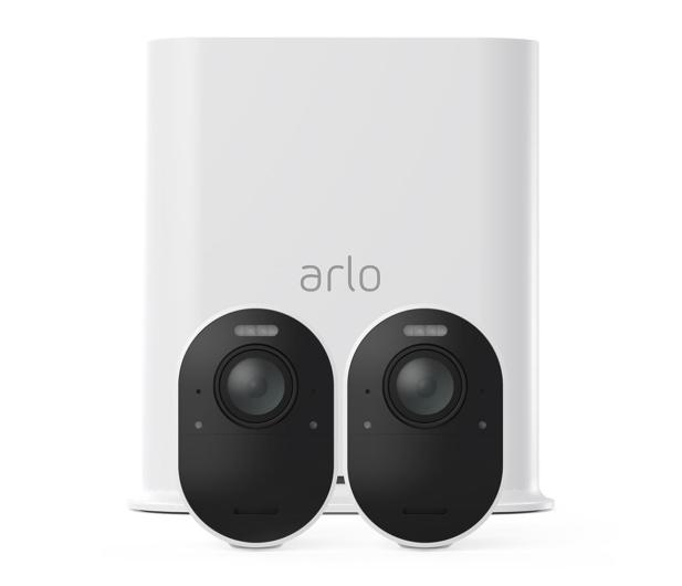 Netgear Arlo Ultra WiFi 4K UHD IR (2szt. + stacja alarm.)  - 493930 - zdjęcie