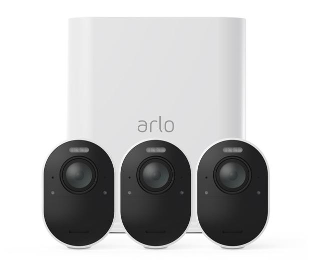 Netgear Arlo Ultra WiFi 4K UHD IR (3szt. + stacja alarm.)  - 493931 - zdjęcie