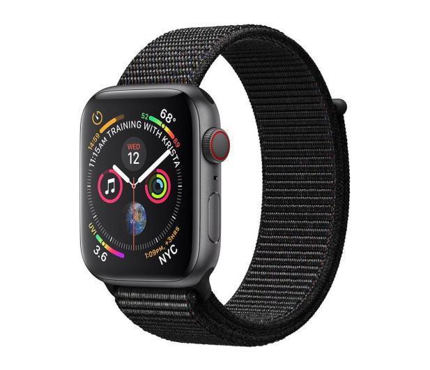 Apple Watch 4 44/SpaceGray Aluminium/BlackSport Loop LTE - 491838 - zdjęcie