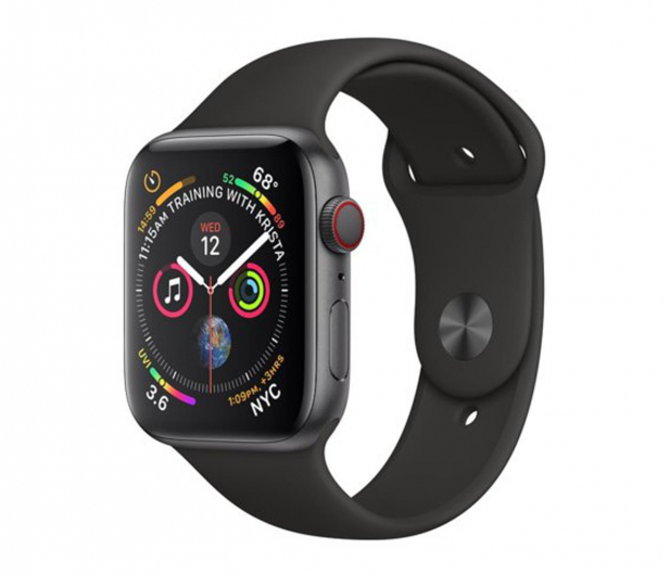 Apple Watch 4 40/Space Gray Aluminium/Black Sport  LTE - 491819 - zdjęcie