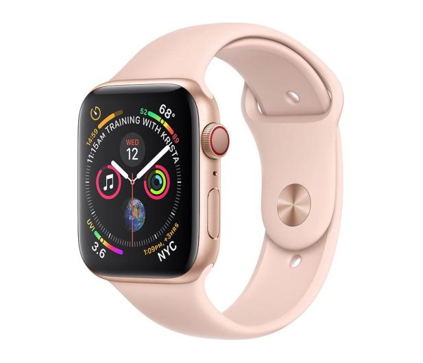 Apple Watch 4 40/Gold Aluminium/Pink Sport LTE - 491814 - zdjęcie