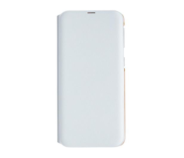Samsung Wallet Cover do Galaxy A40 biały - 493077 - zdjęcie