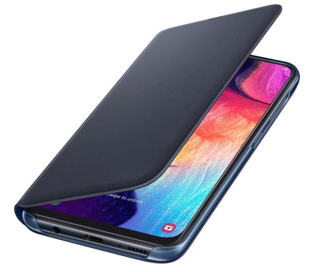 Samsung Wallet Cover do Galaxy A50 czarny - 493081 - zdjęcie 3