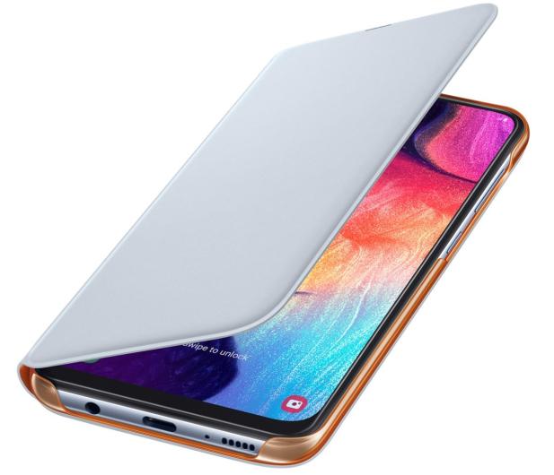 Samsung Wallet Cover do Galaxy A50 biały - 493082 - zdjęcie 3