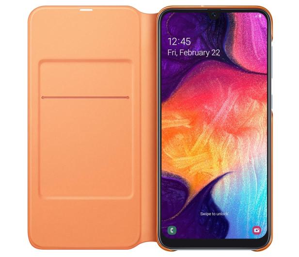 Samsung Wallet Cover do Galaxy A50 biały - 493082 - zdjęcie 4