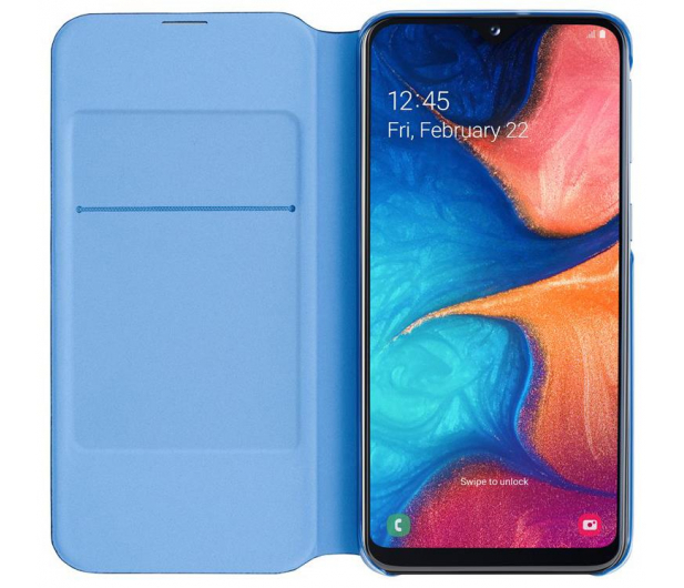 Samsung Wallet Cover do Galaxy A20e czarny - 493091 - zdjęcie 4