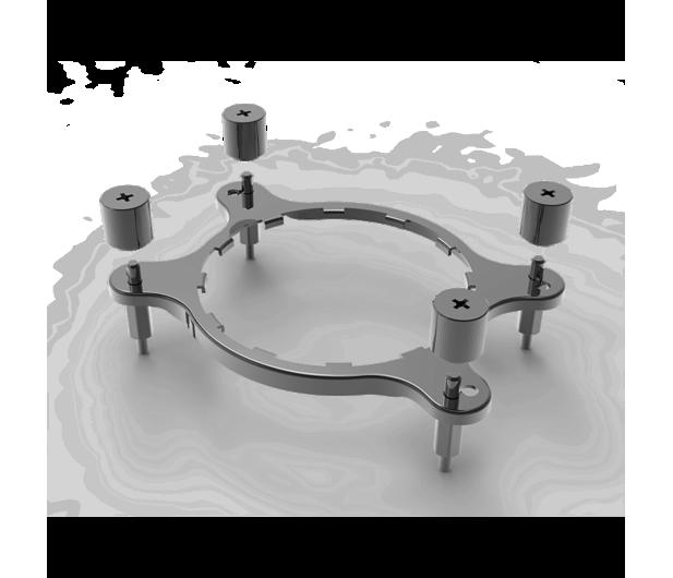 Corsair Bracket kit AM4 - 366691 - zdjęcie 2