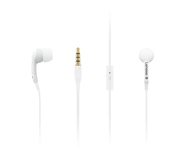 Lenovo 100 In-Ear Headphone (biały)  - 494610 - zdjęcie