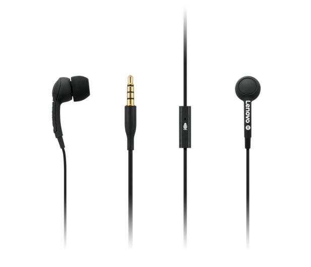 Lenovo 100 In-Ear Headphone (czarny) - 494609 - zdjęcie