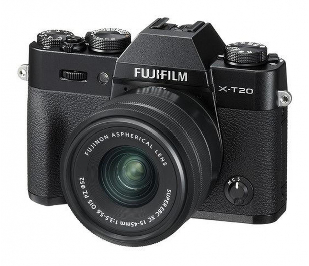 Fujifilm X-T20 15-45mm czarny  - 499087 - zdjęcie