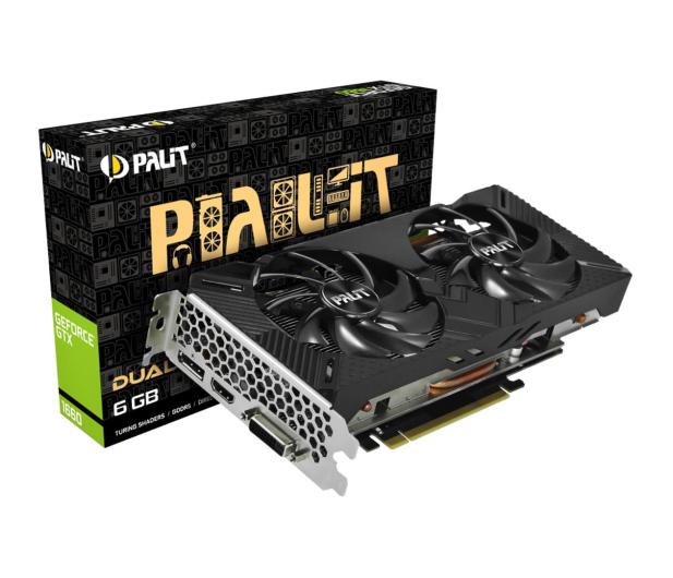Palit GeForce GTX 1660 Dual 6GB GDDR5  - 498877 - zdjęcie