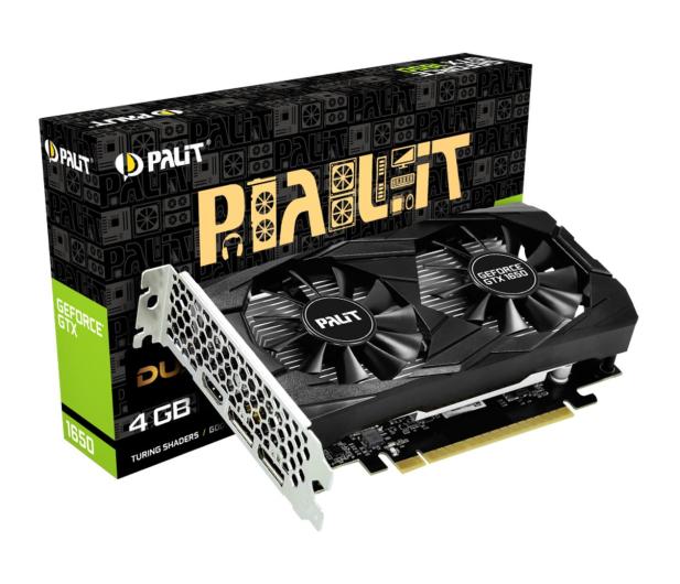 Palit GeForce GTX 1650 Dual 4GB GDDR5 - 498883 - zdjęcie
