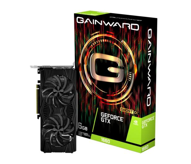 Gainward GeForce GTX 1660 Ghost OC 6GB GDDR5 - 498894 - zdjęcie
