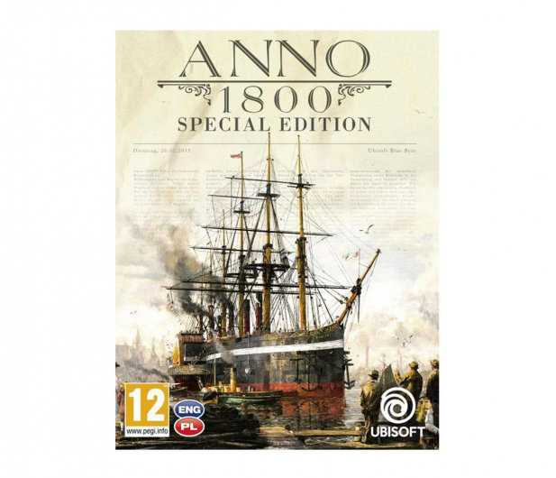 Ubisoft Anno 1800 ESD Uplay - 493321 - zdjęcie