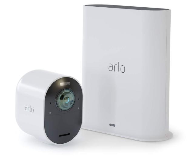 Netgear Arlo Ultra WiFi 4K UHD IR (1szt. + stacja alarm.)  - 493928 - zdjęcie 4