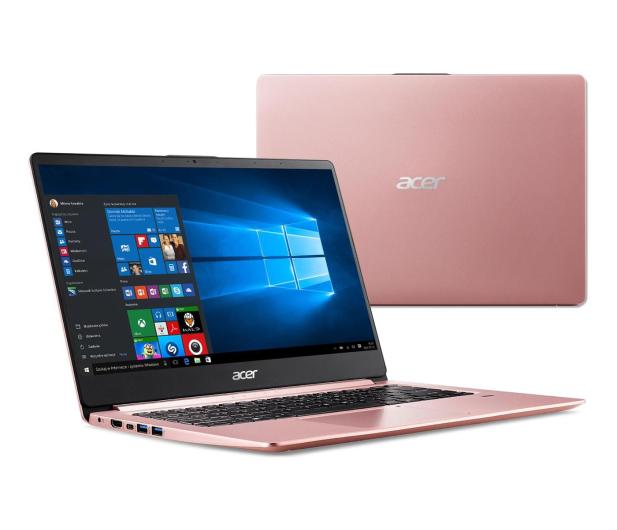 Acer Swift 1 N5000/4GB/240/Win10 IPS FHD Różowy - 496521 - zdjęcie