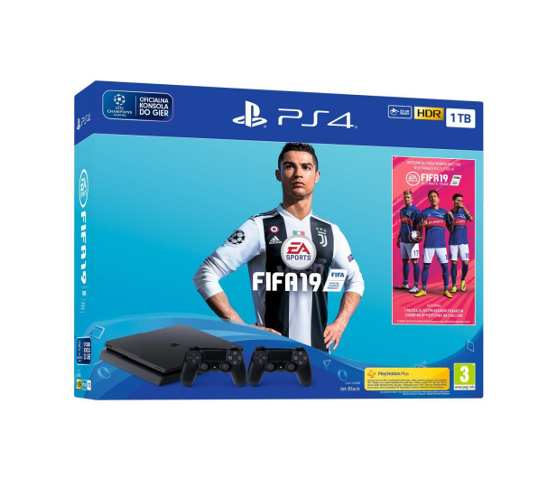 Sony Playstation 4 Slim 1TB + FIFA 19 + Pad + Days Gone - 495069 - zdjęcie 5