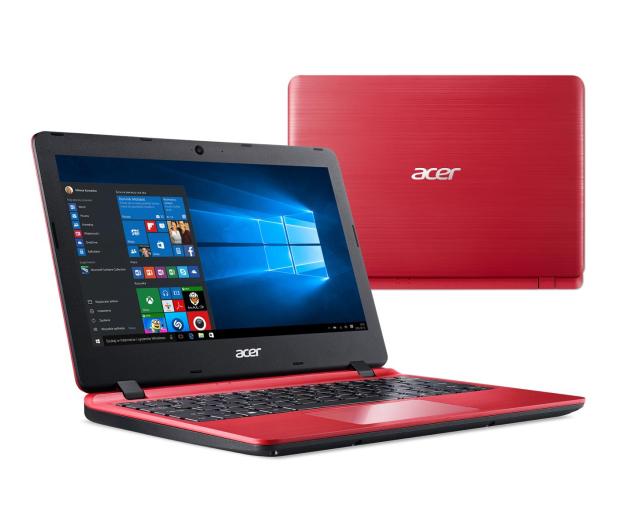Acer Aspire 1 N4000/8GB/64GB/Win10 Czerwony - 495067 - zdjęcie 2