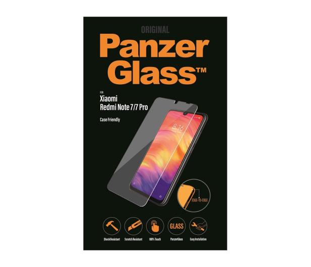 PanzerGlass Szkło Edge Casefriendly do Xiaomi Redmi Note 7 - 495684 - zdjęcie