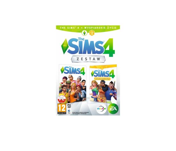 EA Maxis The Sims 4 + Sims 4 Wyspiarskie Życie - 501611 - zdjęcie