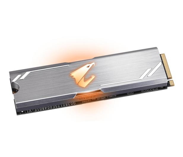 Gigabyte 512GB M.2 PCIe NVMe AORUS RGB - 499476 - zdjęcie 2