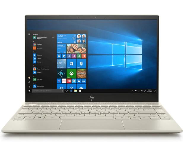 HP Envy 13 i5-8265U/8GB/960/Win10 MX150 Gold  - 504036 - zdjęcie 3