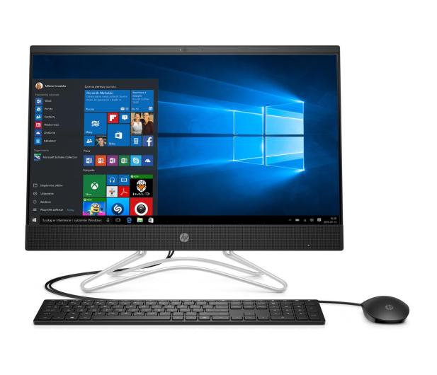 HP 24 AiO A9-9425/4GB/240/Win10Px IPS Black  - 501936 - zdjęcie