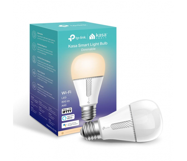 TP-Link Żarówka LED WiFi (E27/800lm)  - 502670 - zdjęcie 2