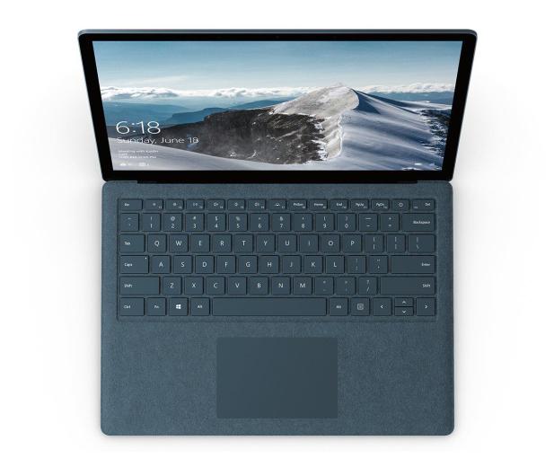 Microsoft Surface Laptop i5-7200/8GB/256/Win10 kobaltowy - 494614 - zdjęcie 2
