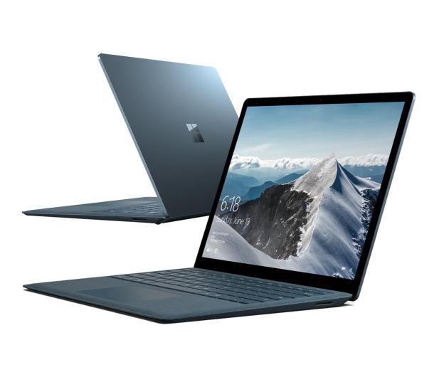 Microsoft Surface Laptop i5-7200/8GB/256/Win10 kobaltowy - 494614 - zdjęcie