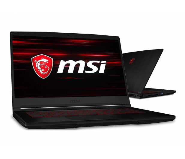 MSI  GF63 i7-9750H/16GB/256 GTX1050Ti  - 532349 - zdjęcie