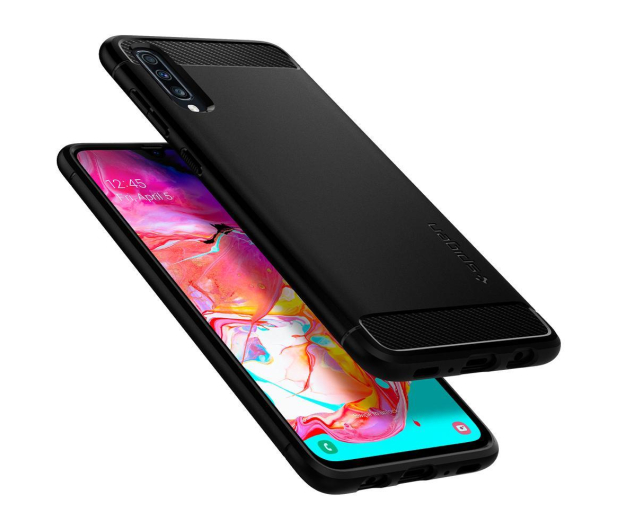 Spigen Rugged Armor do Samsung Galaxy A70 Black - 498412 - zdjęcie 3
