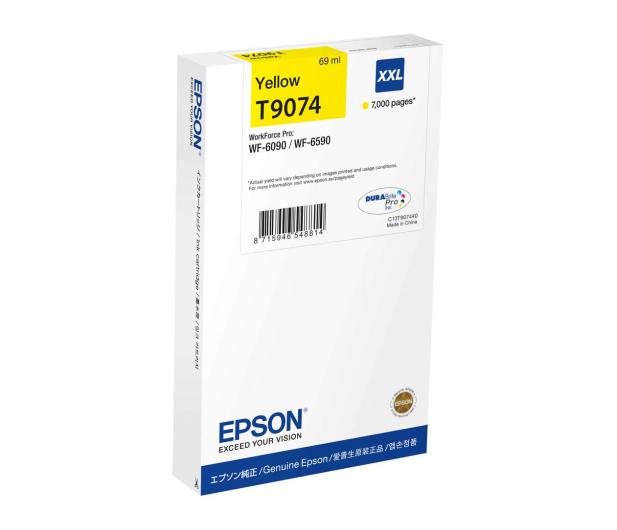 Epson T9074 yellow XXL 69ml (C13T907440) - 499444 - zdjęcie
