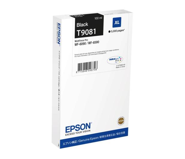Epson T9081 black XL 100ml (C13T908140) - 499442 - zdjęcie