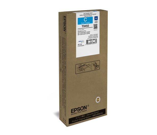 Epson T9452 cyan XL 38,1ml (C13T945240) - 499451 - zdjęcie