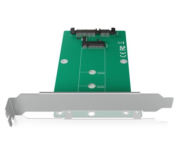 ICY BOX Konwerter M.2 SATA - SATA  - 499596 - zdjęcie 2