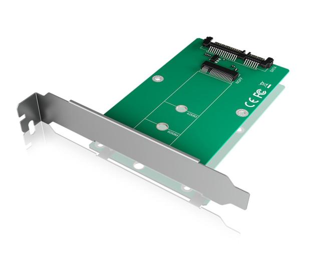 ICY BOX Konwerter M.2 SATA - SATA  - 499596 - zdjęcie