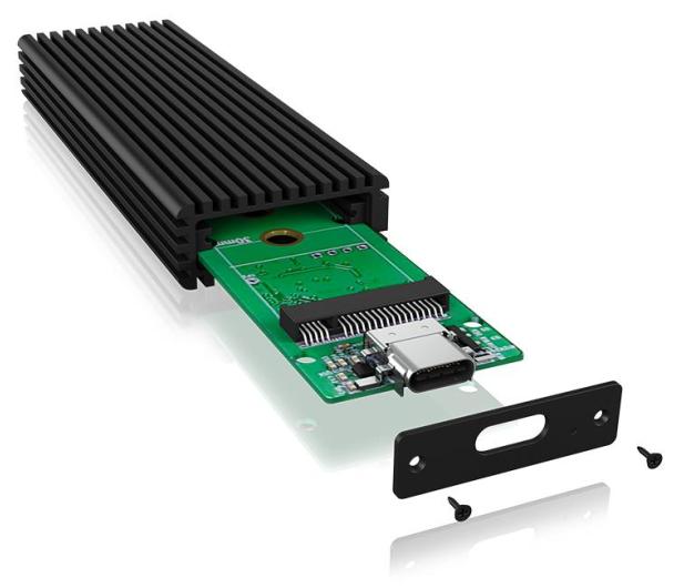 ICY BOX Obudowa do dysku M.2 NVMe (USB-C, M-Key) - 499604 - zdjęcie 3