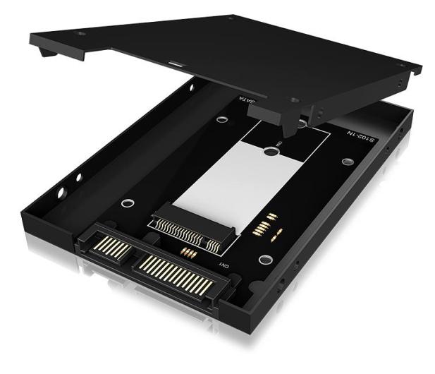"""ICY BOX Adapter do dysku M.2 SATA na 2.5"""" SSD - 499595 - zdjęcie 4"""
