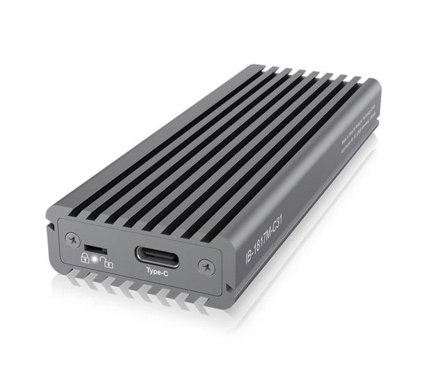 ICY BOX Obudowa do dysku M.2 NVMe (USB-C, M-Key) - 499605 - zdjęcie