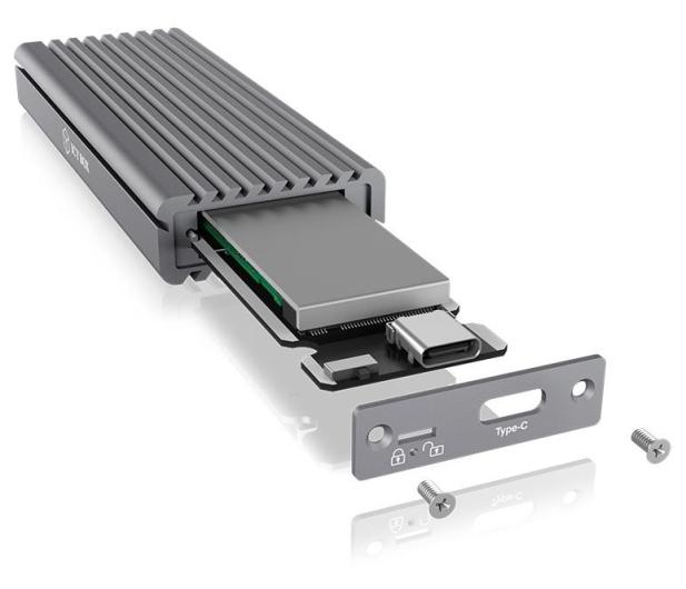 ICY BOX Obudowa do dysku M.2 NVMe (USB-C, M-Key) - 499605 - zdjęcie 4